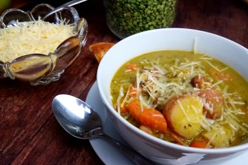 Split Pea Stew with Andouille Sausage