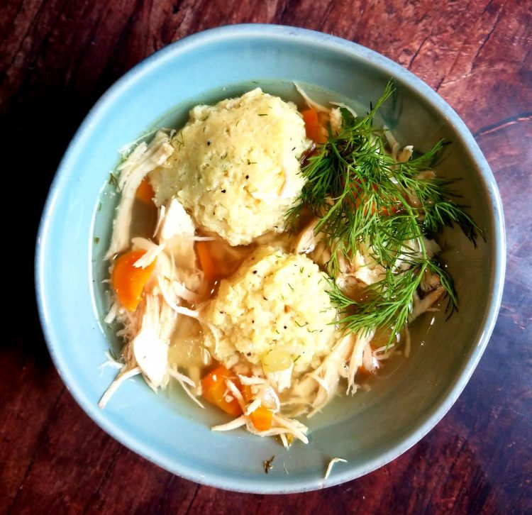 Harvest Matzah Ball Soup