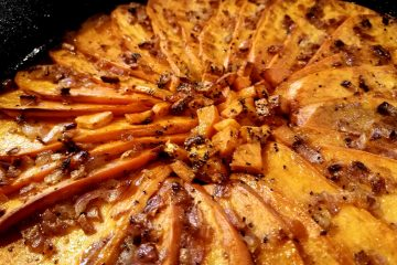 Rustic Sweet Potato Pommes Anna