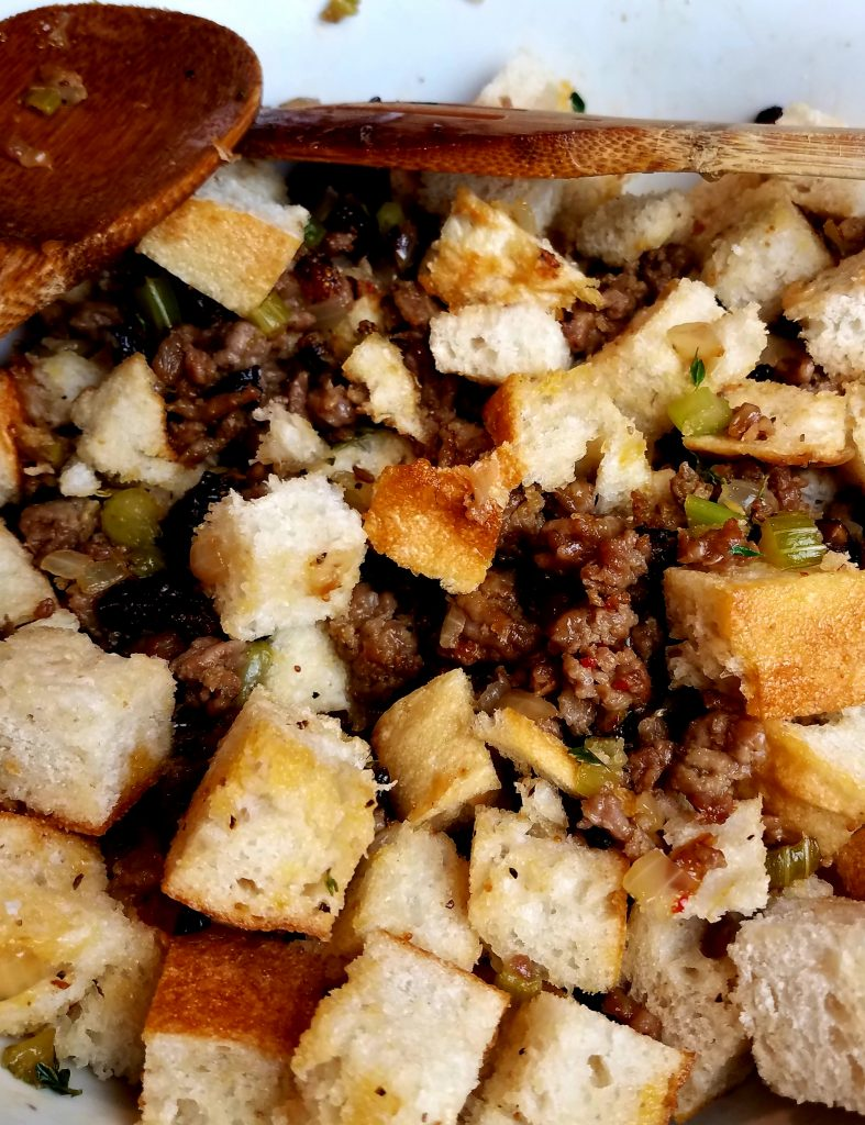 Italian Sausage and Fig Stuffing