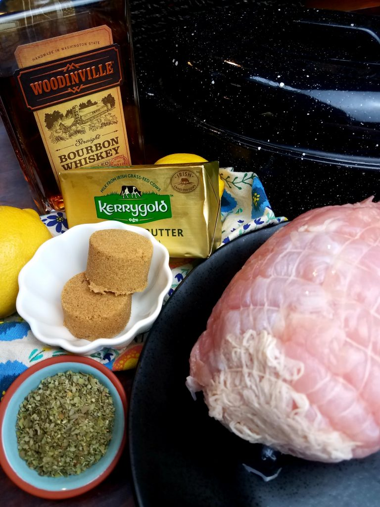 Brown Sugar and Bourbon Roasted Turkey Breast