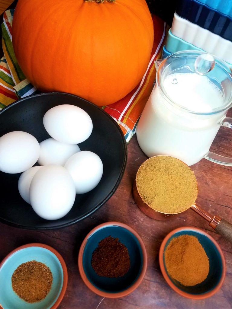 Pumpkin Pot de Creme with Maple Spiced Rum Whipped Cream
